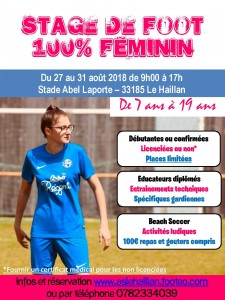 STAGE FILLE FOOT